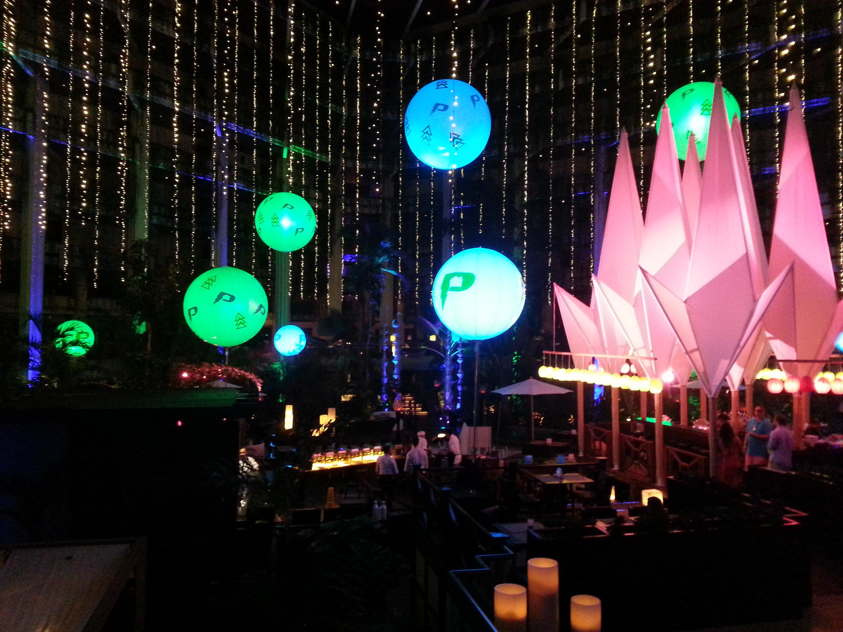 Inflatable Lighting Qlx