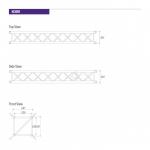 Prolyte H30V Dimensions