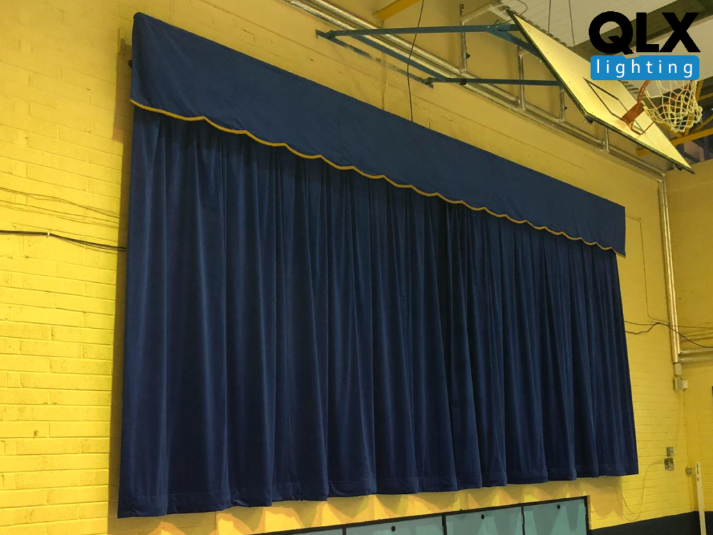 Velvet Velour Theatre Curtains